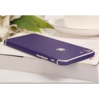 10% OFF + FREE SHIPPING, Buy Best PDair Top Quality Frosted Sparkle iPhone Decal Wrap Skin Set (Purple) which is available for iPhone 7, iPhone 7 plus. You also can go to the customizer to create your own stylish leather case if looking for additional col