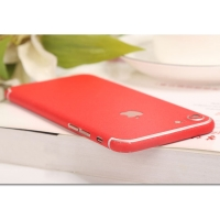 Frosted Sparkle iPhone 7 | iPhone 7 Plus Decal Wrap Skin Set (Red)