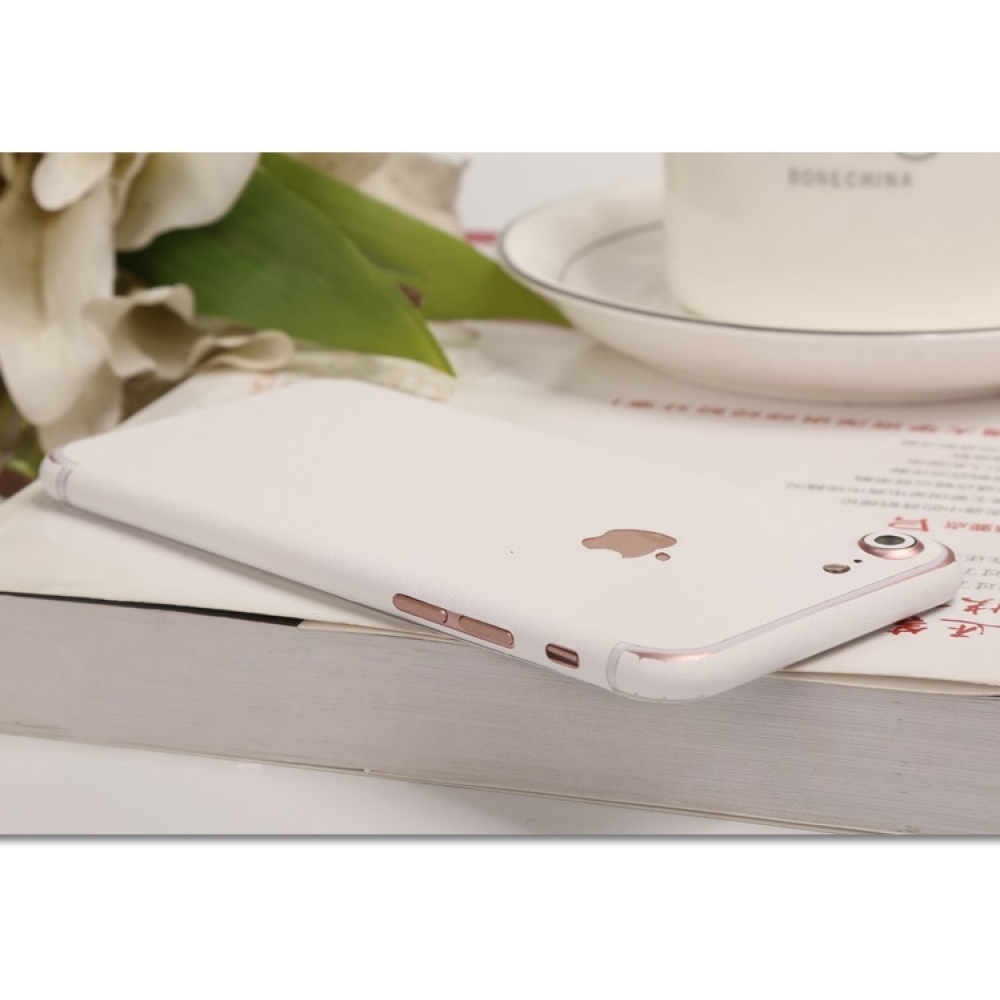 10% OFF + FREE SHIPPING, Buy Best PDair Top Quality Frosted Sparkle iPhone Decal Wrap Skin Set (White) which is available for iPhone 7, iPhone 7 plus. You also can go to the customizer to create your own stylish leather case if looking for additional colo