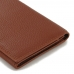 Leather Continental Sleeve Wallet (Brown Pebble Leather) PDair 10% OFF top quality leather case by PDair