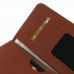 iPhone 8 Plus Leather Wallet Sleeve Case (Brown Pebble Leather) handmade leather case by PDair