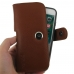 iPhone 7 in Official Smart Battery Holster Case (Brown Pebble Leather) handmade leather case by PDair