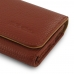 iPhone 6 6s Leather Wallet Case (Brown Pebble Leather) top quality leather case by PDair