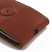 Moto X Style / Pure Edition Flip Wallet Case (Brown Pebble Leather) offers worldwide free shipping by PDair