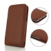 Samsung Galaxy S7 edge Leather Sleeve Pouch Case Brown Pebble Leather protective carrying case by PDair