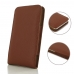 Samsung Galaxy J7 2016 Leather Sleeve Pouch Case Brown Pebble Leather protective carrying case by PDair