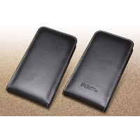 Leather Vertical Pouch Case for Fujitsu arrows NX F-01J