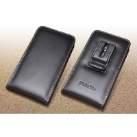 Leather Vertical Pouch Belt Clip Case for Fujitsu arrows NX F-01J