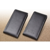 Leather Vertical Pouch Case for Fujitsu arrows SV F-03H