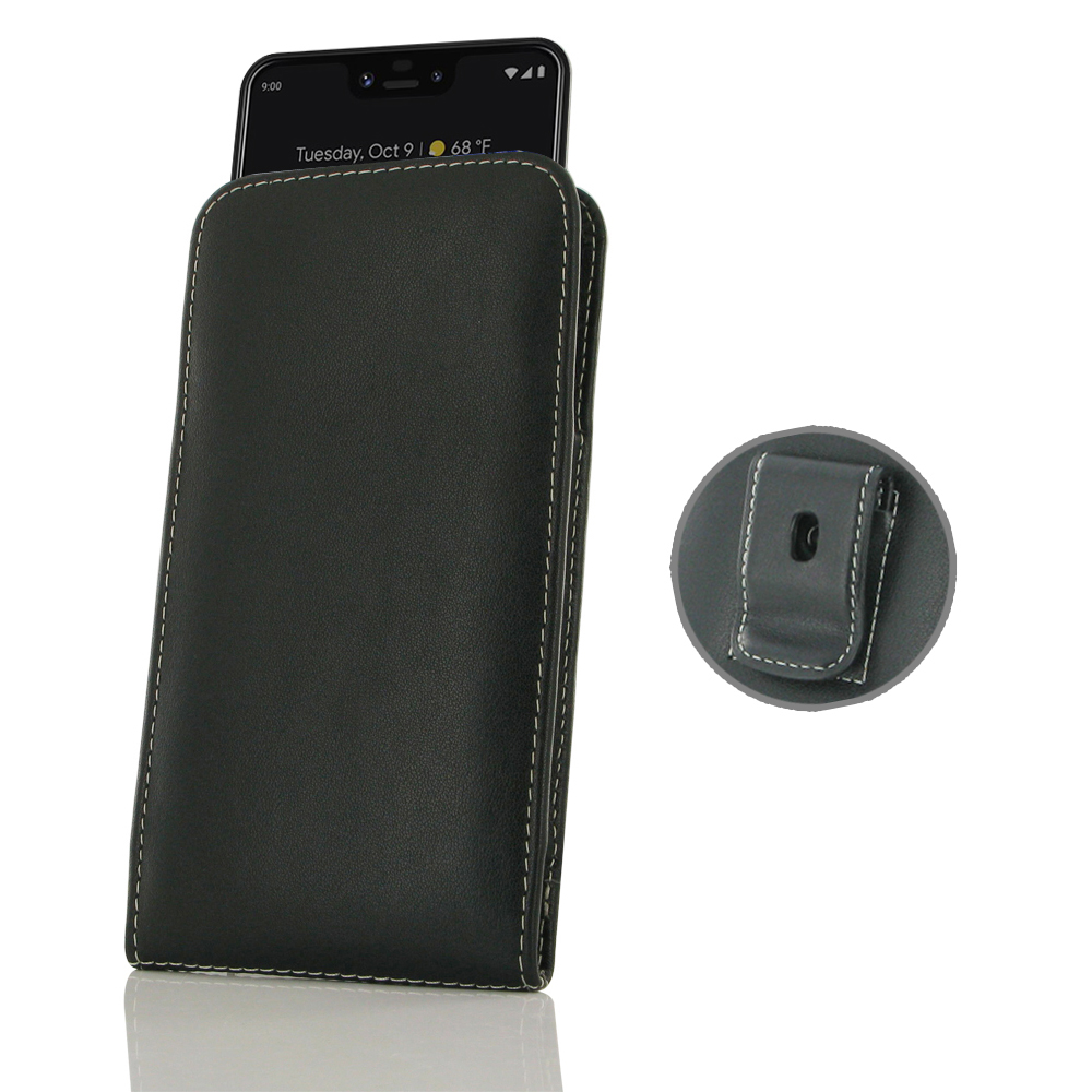 10% OFF + FREE SHIPPING, Buy the BEST PDair Handcrafted Premium Protective Carrying Google Pixel 3 XL Pouch Case with Belt Clip. Exquisitely designed engineered for Google Pixel 3 XL.