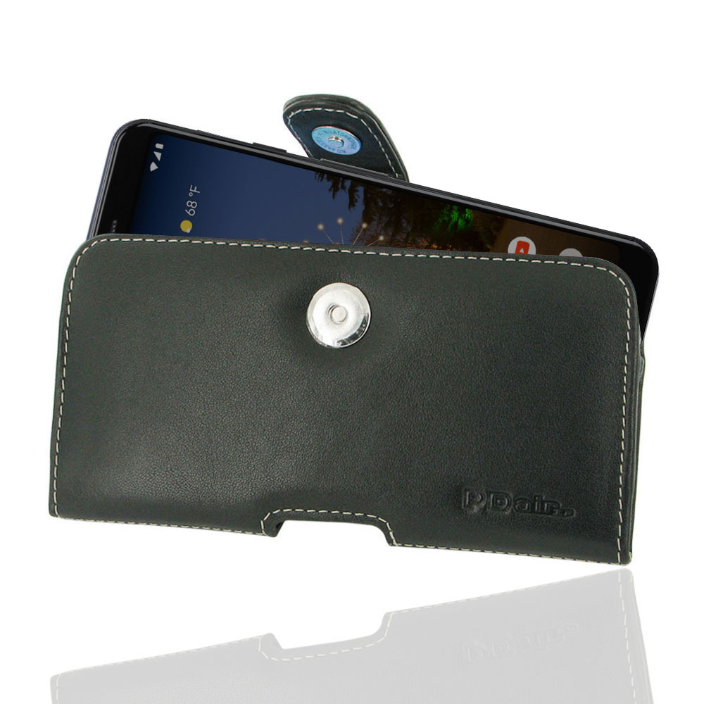 10% OFF + FREE SHIPPING, Buy the BEST PDair Handcrafted Premium Protective Carrying Google Pixel 3a XL Leather Holster Case. Exquisitely designed engineered for Google Pixel 3a XL.