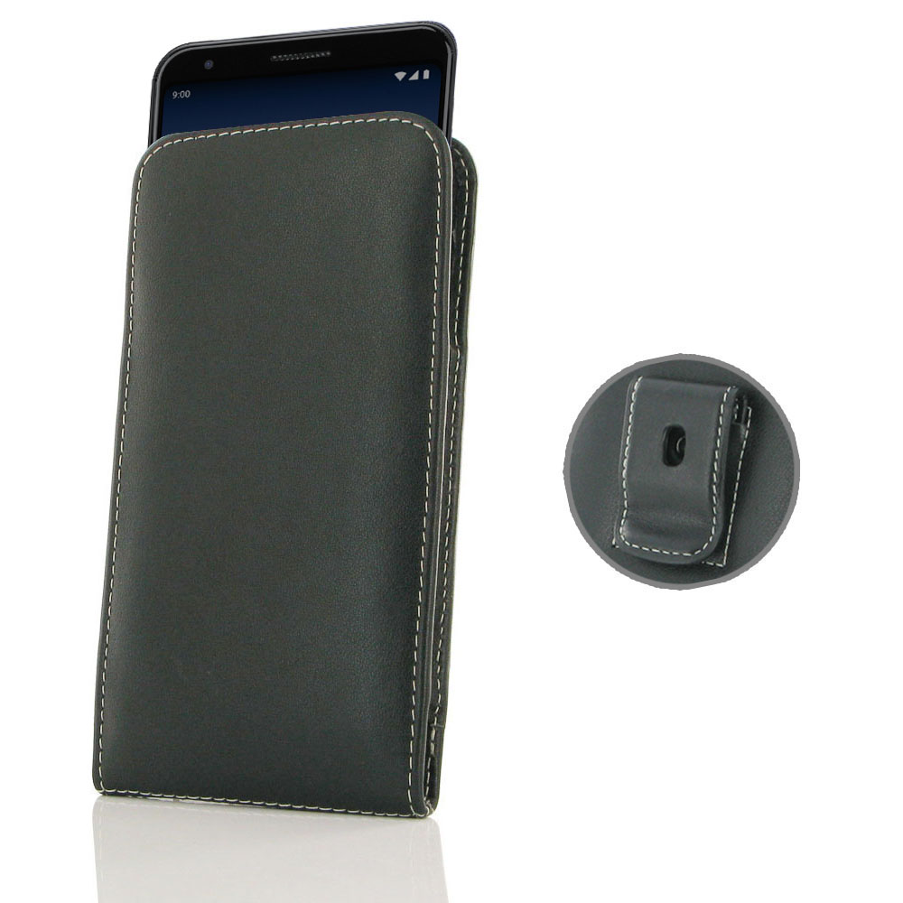 10% OFF + FREE SHIPPING, Buy the BEST PDair Handcrafted Premium Protective Carrying Google Pixel 3a XL Pouch Case with Belt Clip. Exquisitely designed engineered for Google Pixel 3a XL.