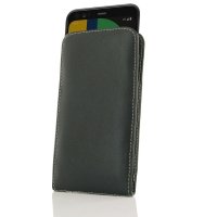Leather Vertical Pouch Case for Google Pixel 4