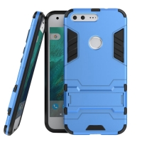 Google Pixel XL Tough Armor Protective Case (Blue) :: PDair