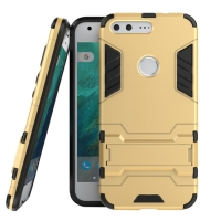 Google Pixel XL Tough Armor Protective Case (Gold) :: PDair