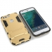 Google Pixel Tough Armor Protective Case (Silver) genuine leather case by PDair