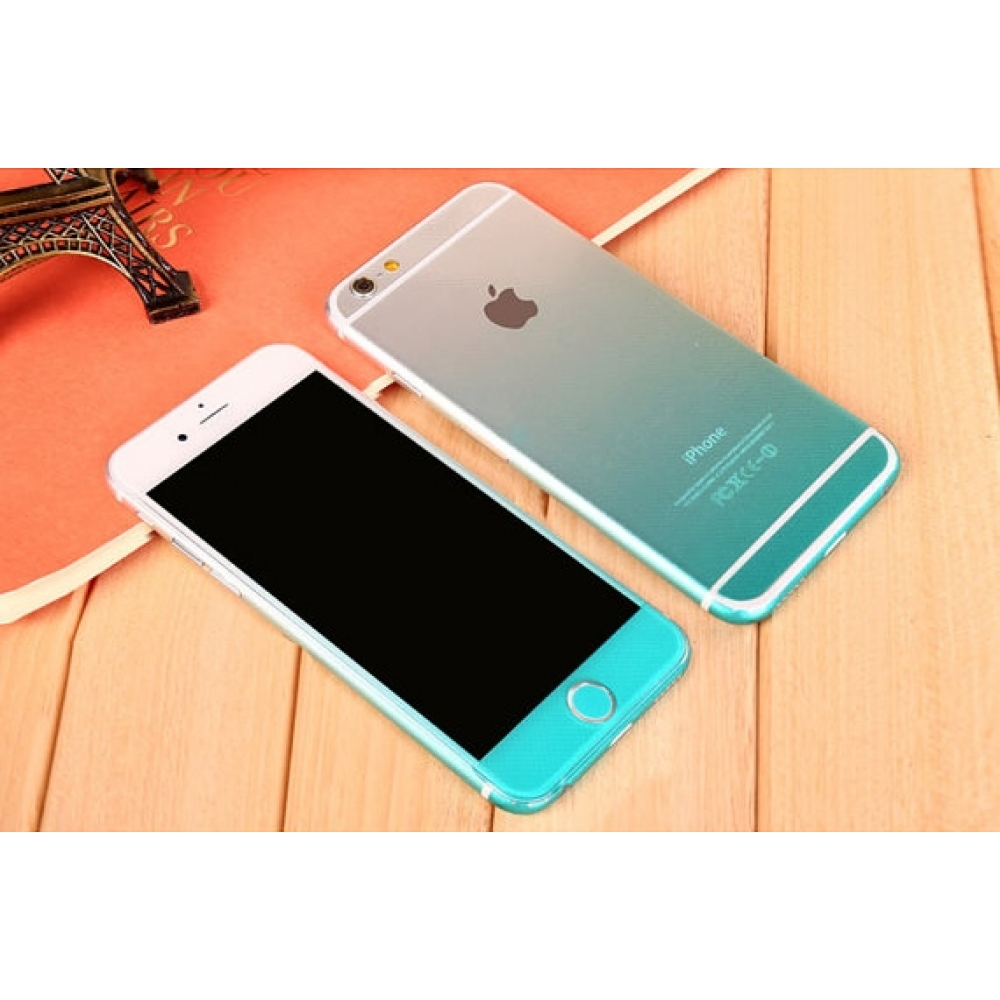 10% OFF + FREE SHIPPING, Buy PDair Top Quality Gradient iPhone Decal Wrap Skin Set (Aqua) which is available for iPhone 6 | iPhone 6s, iPhone 6 Plus | iPhone 6s Plus, iPhone 5 | iPhone 5s SE. You also can go to the customizer to create your own stylish le
