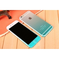 Gradient iPhone 6s 6 Plus Decal Wrap Skin Set (Aqua)