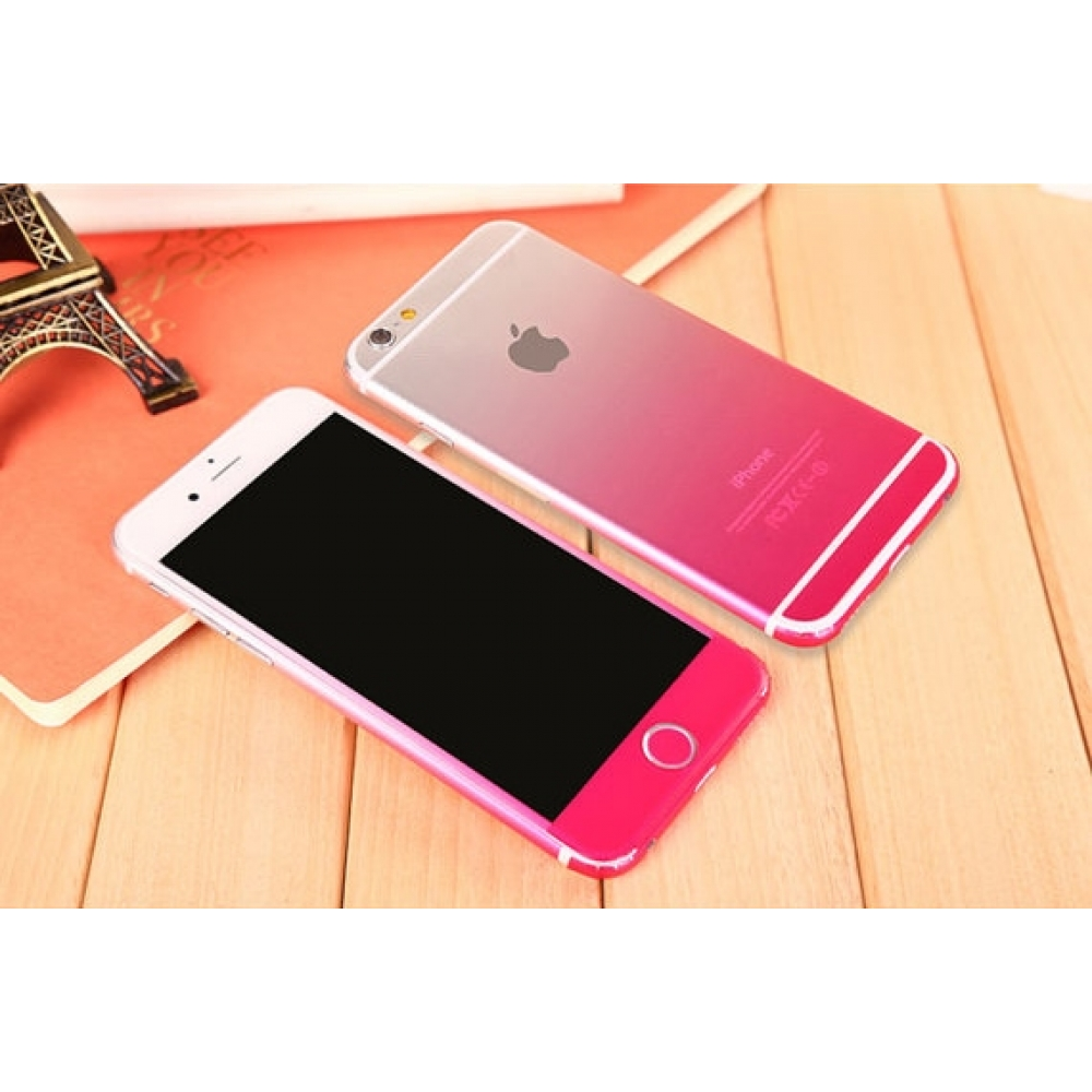 10% OFF + FREE SHIPPING, Buy PDair Top Quality Gradient iPhone Decal Wrap Skin Set (Pink) which is available for iPhone 6 | iPhone 6s, iPhone 6 Plus | iPhone 6s Plus, iPhone 5 | iPhone 5s SE. You also can go to the customizer to create your own stylish le