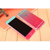 Gradient iPhone 6s 6 Plus Decal Wrap Skin Set (Pink to Aqua)