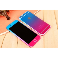 Gradient iPhone 6s 6 Plus Decal Wrap Skin Set (Pink to Blue)
