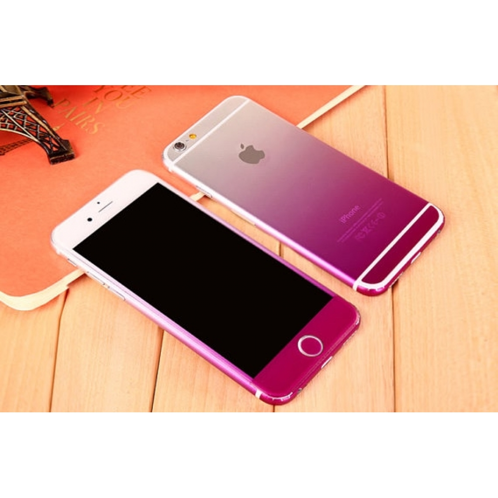 10% OFF + FREE SHIPPING, Buy PDair Top Quality Gradient iPhone Decal Wrap Skin Set (Purple) which is available for iPhone 6 | iPhone 6s, iPhone 6 Plus | iPhone 6s Plus, iPhone 5 | iPhone 5s SE You also can go to the customizer to create your own stylish l