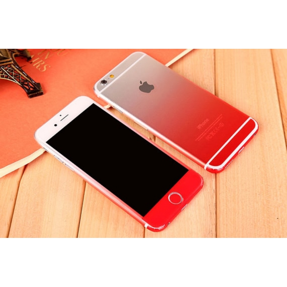 10% OFF + FREE SHIPPING, Buy PDair Gradient iPhone Decal Wrap Skin Set (Red) which is available for iPhone 5 | iPhone 5s, iPhone 6 | iPhone 6s, iPhone 6 Plus | iPhone 6s Plus, iPhone SE. You also can go to the customizer to create your own stylish leather