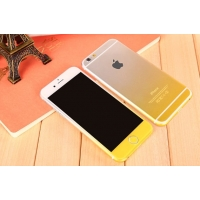 Gradient iPhone 6s 6 Plus Decal Wrap Skin Set (Yellow)