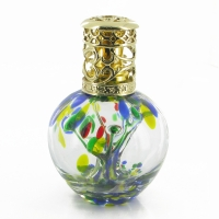 Fragrance Effusion Lamp Oil Diffuser Green Spring Glass Tree
