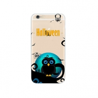 Halloween Owl iPhone 6s 6 Plus SE 5s 5 Pattern Printed Soft Case