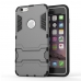 iPhone 6s 6 Plus SE 5s 5 Tough Armor Protective Case (Grey) protective carrying case by PDair