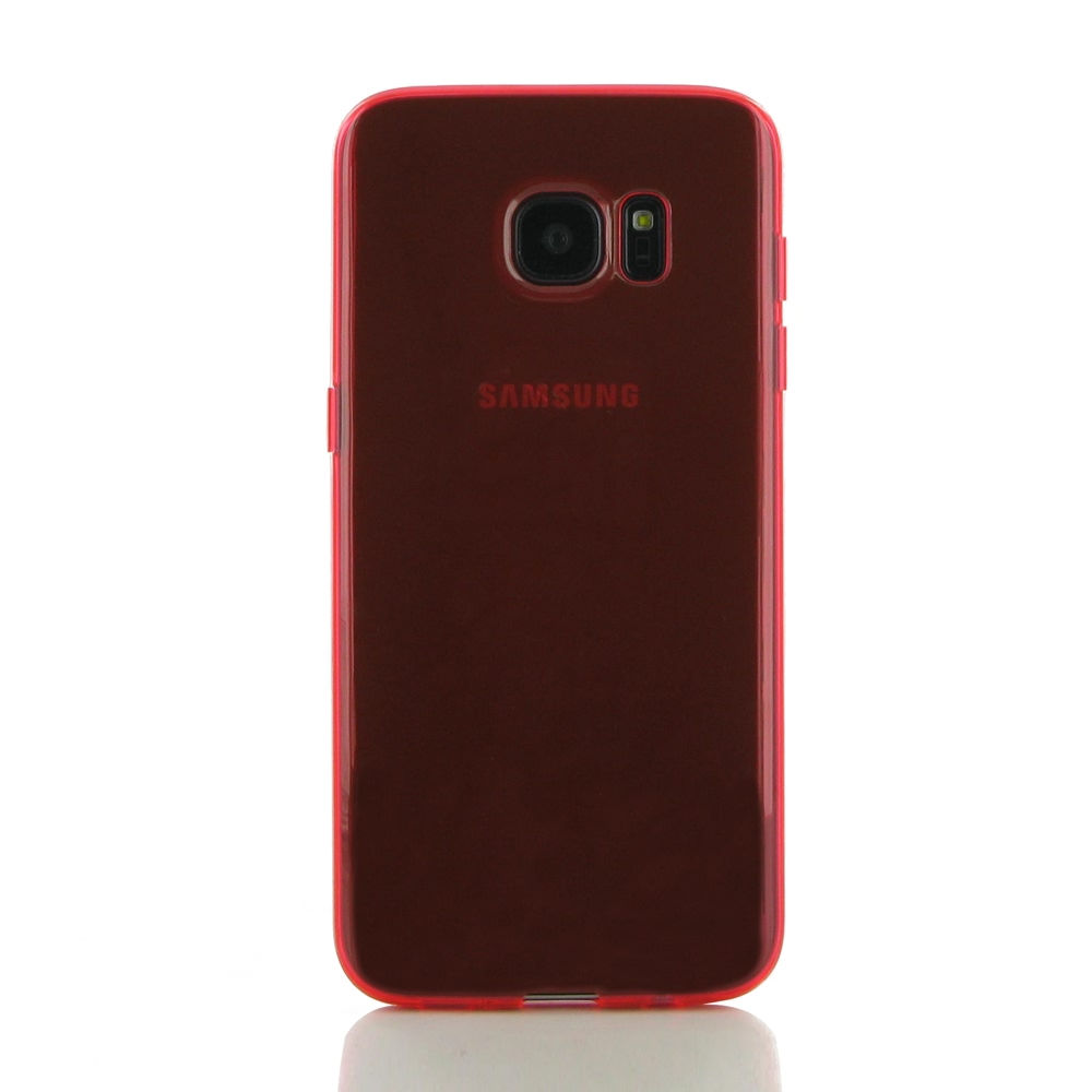 10% OFF + FREE SHIPPING, Buy Best PDair Top Quality Protective Samsung Galaxy S7 edge Transparent Soft Gel Case (Red) online. You also can go to the customizer to create your own stylish leather case if looking for additional colors, patterns and types.