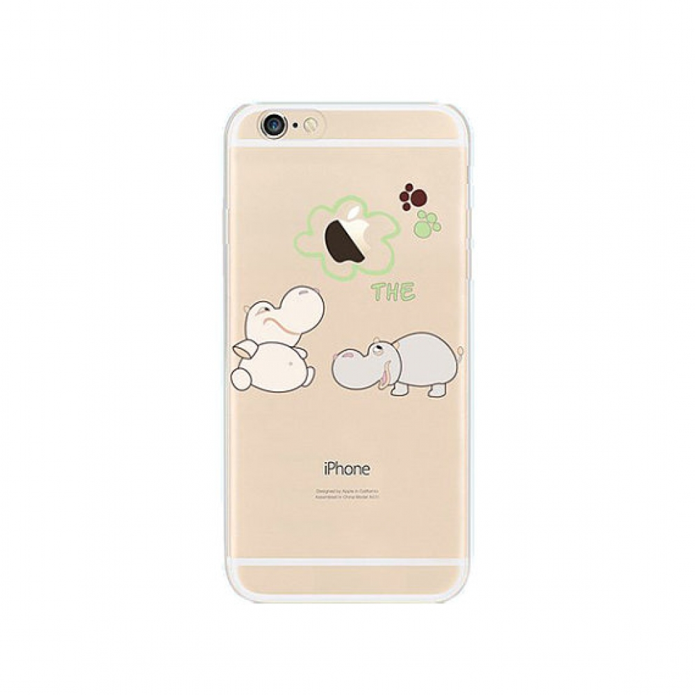 10% OFF + FREE SHIPPING, Buy PDair iPhone Pattern Printed Soft Clear Case (Hippos Cutie) which is available for iPhone 6 | iPhone 6s, iPhone 6 Plus | iPhone 6s Plus, iPhone 5 | iPhone 5s SE. You also can go to the customizer to create your own stylish lea