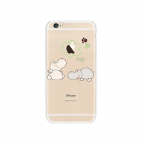 Hippos Cutie iPhone 6s 6 Plus SE 5s 5 Pattern Printed Soft Case