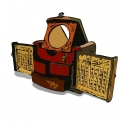 Oriental Furniture - Handmade Collectible Antique Oriental Jewellery Box and Chess Game Set