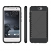 HTC One A9 Hybrid Combo Aegis Armor Case Cover (Black) protective carrying case by PDair