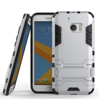 HTC 10 Tough Armor Protective Case (Silver) :: PDair