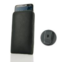 Leather Vertical Pouch Belt Clip Case for HTC Desire 12 Plus | Desire 12+