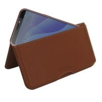 10% OFF + FREE SHIPPING, Buy the BEST PDair Handcrafted Premium Protective Carrying HTC Desire 12s Leather Wallet Pouch Case (Brown). Exquisitely designed engineered for HTC Desire 12s.