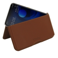 10% OFF + FREE SHIPPING, Buy the BEST PDair Handcrafted Premium Protective Carrying HTC Desire 19+ Leather Wallet Pouch Case (Brown). Exquisitely designed engineered for HTC Desire 19+.
