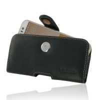 HTC One S9 Leather Holster Case PDair Premium Hadmade Genuine Leather Protective Case Sleeve Wallet