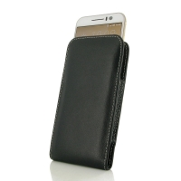 HTC One S9 Leather Sleeve Pouch Case PDair Premium Hadmade Genuine Leather Protective Case Sleeve Wallet