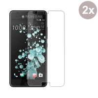 Premium Tempered Glass Film Screen Protector for HTC U Ultra (Pack of 2pcs)