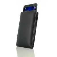 Leather Vertical Pouch Case for HTC U11