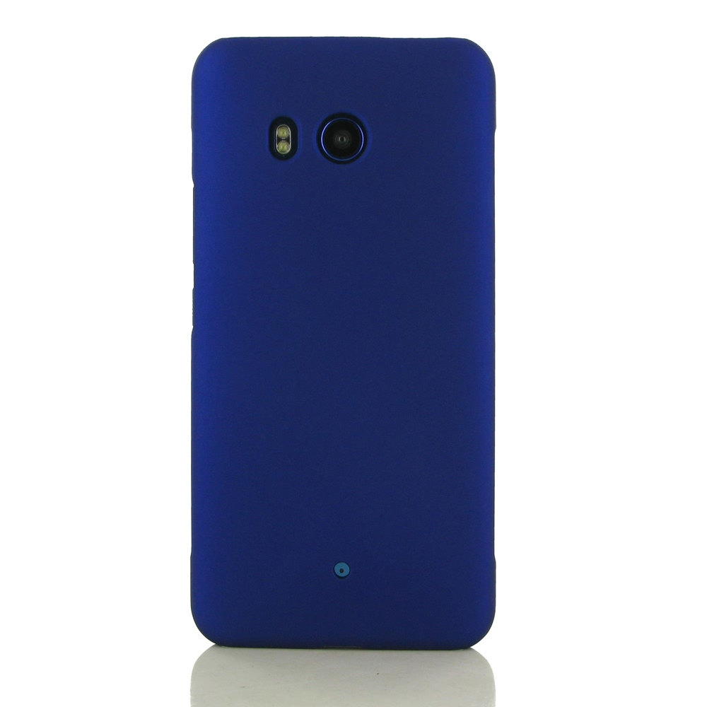 Rubberized Hard Cover for HTC U11 (Blue)