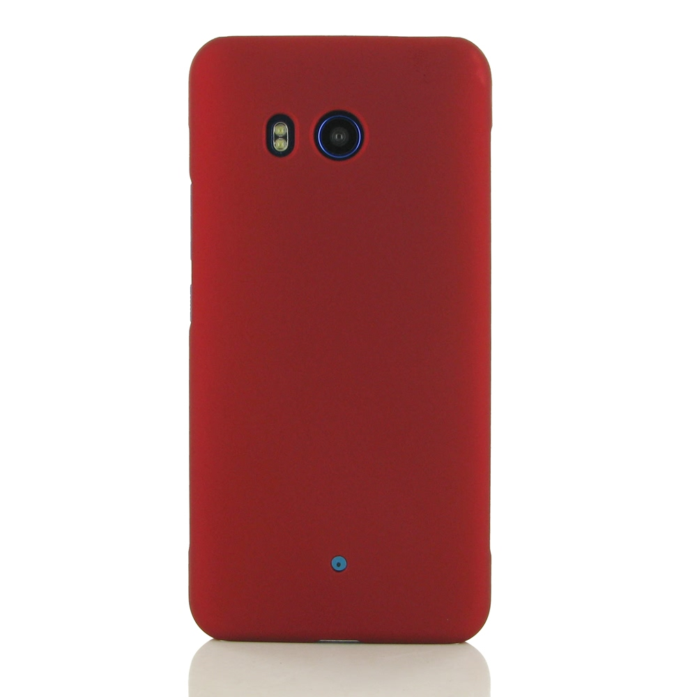 Rubberized Hard Cover for HTC U11 (Red)