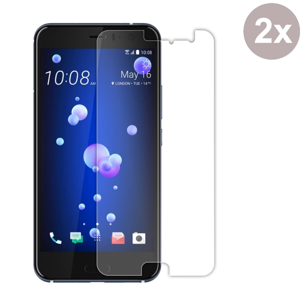 Premium Tempered Glass Film Screen Protector for HTC U11 (Pack of 2pcs)
