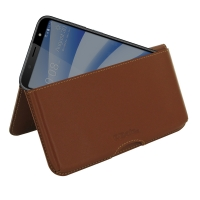 10% OFF + FREE SHIPPING, Buy the BEST PDair Handcrafted Premium Protective Carrying HTC U12 life Leather Wallet Pouch Case (Brown). Exquisitely designed engineered for HTC U12 life.