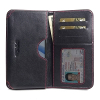 10% OFF + FREE SHIPPING, Buy the BEST PDair Handcrafted Premium Protective Carrying HTC U12 life Leather Wallet Sleeve Case (Red Stitch). Exquisitely designed engineered for HTC U12 life.