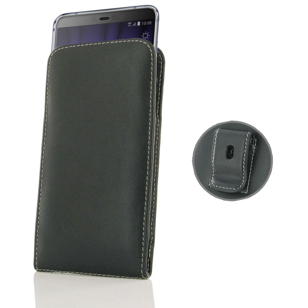 10% OFF + FREE SHIPPING, Buy the BEST PDair Handcrafted Premium Protective Carrying HTC U19e Pouch Case with Belt Clip. Exquisitely designed engineered for HTC U19e.